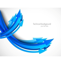 Background with arrows vector image vector image