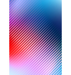 abstract blurred colors background with diagonal vector image