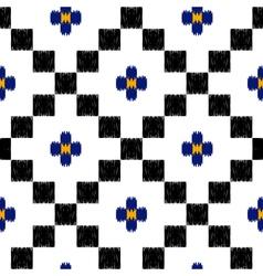 hand drawn tribal ethnic seamless pattern vector image