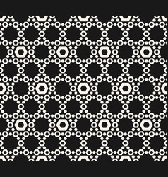 Hexagons texture geometric seamless pattern with vector