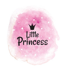 little princess abstract background with rose vector image