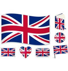 United kingdom national flag vector