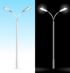streetlight vector image vector image
