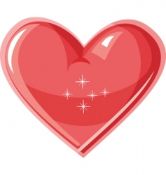 hearts icon vector image vector image