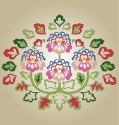 fancy flower vector image vector image