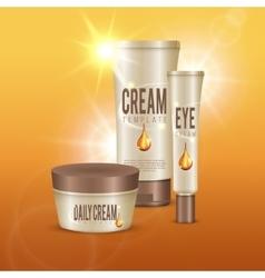 Daily Cosmetics Composition vector