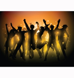 party people background 1306 vector image vector image