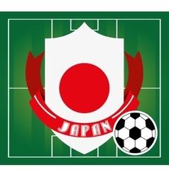 football soccer sport vector image