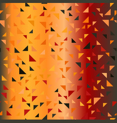 Glowing triangle pattern seamless vector