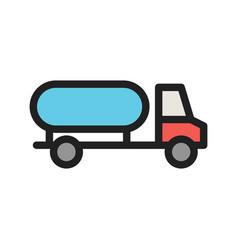 Water truck vector