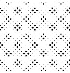 Abstract monochrome curved star pattern vector