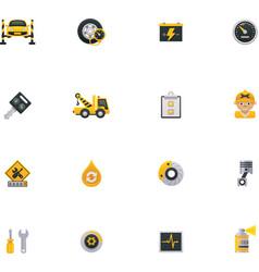 Car service icon set Part 1 vector