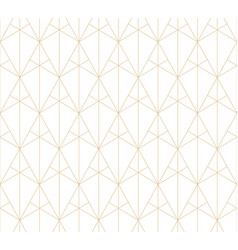 golden lines pattern geometric seamless texture vector image