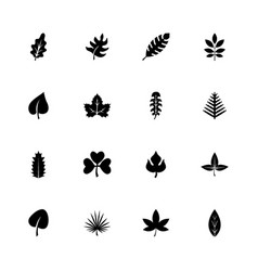 herb - flat icons vector image
