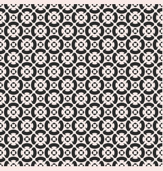 monochrome ornament texture seamless pattern in vector image