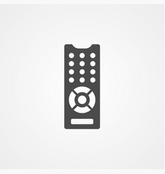 remote control icon sign symbol vector image