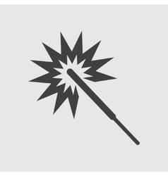 Sparkler icon vector image