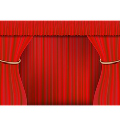 ROPE frame curtain full vector image
