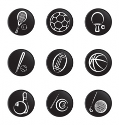 sport object icon vector image vector image