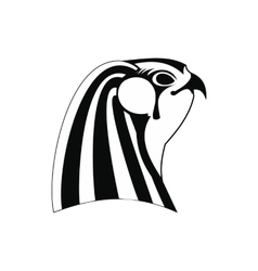 Horus icon simple style vector image vector image