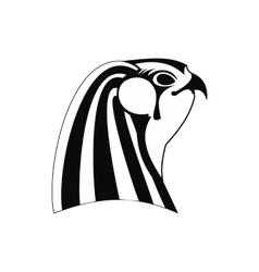 Horus icon simple style vector