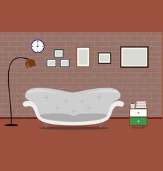 interior design living modern vector image