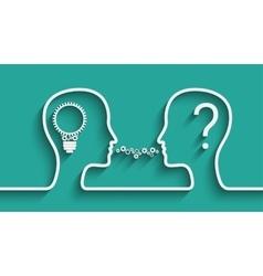 Creating Idea concept vector