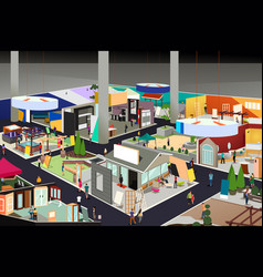 Home and garden trade show vector