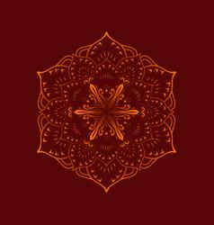 Mandala 16 vector