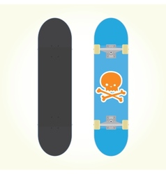 Skateboard isolated vector