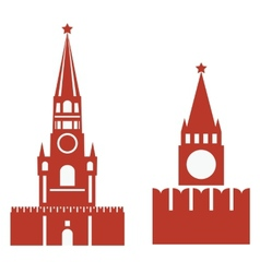 Two variations of spasskaya tower and req vector