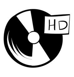 vinyl record icon cartoon vector image vector image