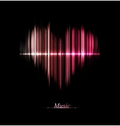 Love of music vector image