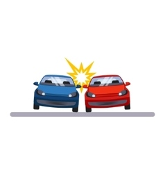 Car and Transportation Accident vector image vector image