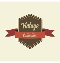Retro vintage badges logo and labels Pin badge vector image vector image
