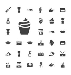 33 skin icons vector