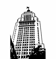 Altino arantes building vector