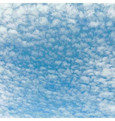 Beautiful Cloudy Sky vector
