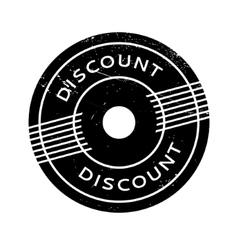 Discount rubber stamp vector