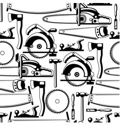 Seamless pattern with equipment and tools for vector