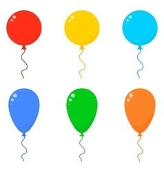 Icon Set Balloons vector image vector image