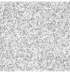 Grunge Doted Overlay Texture vector image