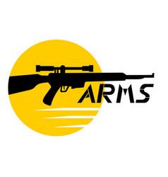 arms icon vector image