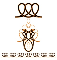 Celtic patterns vector