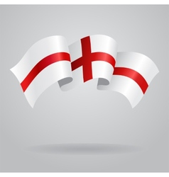 English waving Flag vector