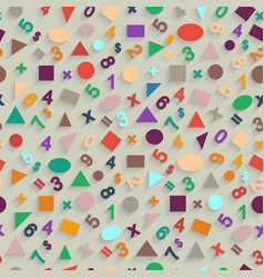 geometric shapes and figures vector image