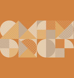 Geometric shapes textures repeatable motif vector