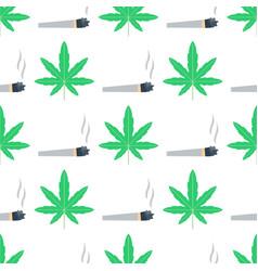 Green marijuana background vector