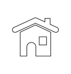 House estate symbol vector image