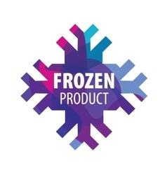 Logo frozen vector